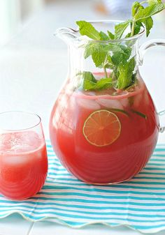 How to Watermelon Lime Mocktail