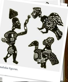 Captured with Lightshot Shadow Theatre, Puppet Theatre, Shadow Puppets, Greek, Fish, Toys, Illustration, Vintage, Art