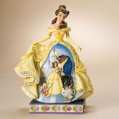 I will own you one day!! Belle Moonlit Enchantment-Belle Figurine