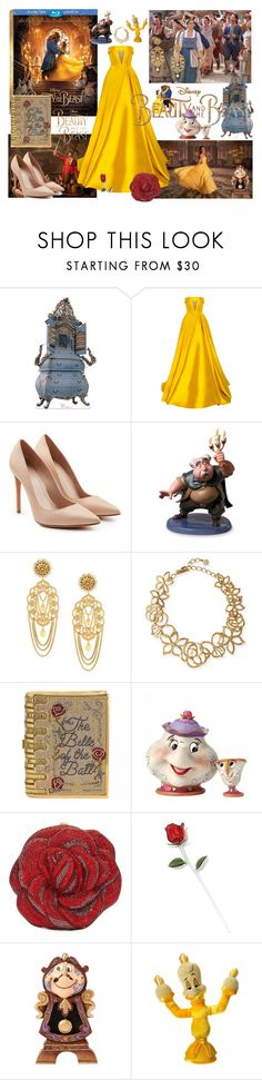 """""""Beauty and the beast"""" by aniri310 ❤ liked on Polyvore featuring Disney, Alex Perry, Alexander McQueen, Dolce&Gabbana, Oscar de la Renta, Judith Leiber, BeautyandtheBeast and contestentry"""
