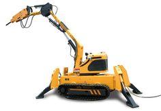Heavy Equipment, Outdoor Power Equipment, Earthquake Disaster, Umea, Institute Of Design, Heavy Machinery, Robot Design, Conceptual Design, New Engine