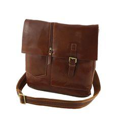 Messenger in Pelle - 2014 - Borse Tracolla Unisex Messenger Bag, Satchel, Unisex, Bags, Products, Fashion, Italian Leather, Purse, Handbags