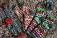Stine & Stitch: Schlechtes Wetter = neue Socken