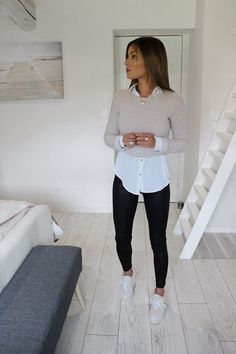white shirt outfit for men ; white shirt outfit for men formal ; white shirt outfit for men casual Casual Work Outfits, Mode Outfits, Classy Outfits, Casual Dresses For Women, Chic Outfits, Clothes For Women, Inspired Outfits, Work Clothes, Winter Fashion Outfits