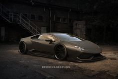 Lamborghini Huracan by Liberty Walk Resembles a Fighter Plane - Rendering