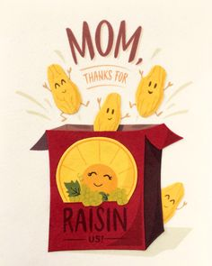 """Our """"Raisin Mothers Day"""" card is lovingly handcrafted in the Philippines by women survivors of sex trafficking. The card incorporates a variety of handmade, recycled papers, making it environmentally sustainable, too. Belated Birthday, Dog Birthday, Greeting Card Companies, Greeting Cards, Color Crafts, Craft Cocktails, Raisin, Philippines, Envelope"""