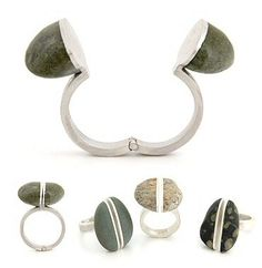 http://TheCarrotbox.com modern jewellery blog : obsessed with rings // feed your fingers!: Bound Earth / Dinomighty Design / Georgina Browett