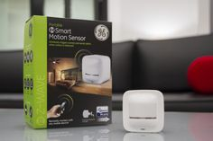 The Portable GE Z-Wave Motion Sensor can signal lights to turn on and off based on occupancy, giving homeowners the convenience of hands-free operation and added energy savings. (Photo: Business Wire)