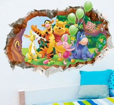 Animals zoo cartoon Winnie Pooh HOME bedroom decals wall stickers for kids rooms wall decals nursery party supply gifts poster Wall Stickers Cartoon, Wall Stickers Wallpaper, Kids Stickers, Kids Room Wall Decals, Nursery Wall Stickers, Wall Decal Sticker, Room Stickers, Window Stickers, Car Decals