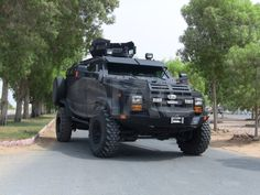 Ultimate tactical vehicle