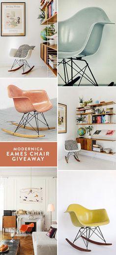 fiberglass chair giveaway from modernica. / sfgirlbybay