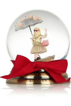 Lanvin|Miss Lanvin snow globe|If I was rich i'd totally get this <3