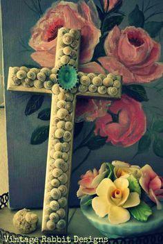 ♥ shell cross