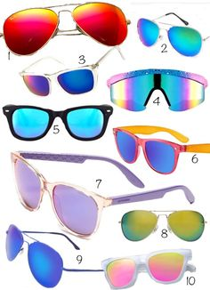 Spring/Summer 2013 Trend: Colored Sunglasses