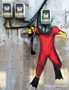 in Seoul, Korea - from Urban Street Art (LP)