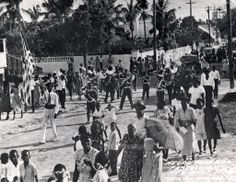 Funeral of Alfred Skinner (Hemingway's bartender Sloppy Joe's) in June Photo from the Monroe County Library Collection. County Library, Key Photo, Florida Keys, Key West, Bartender, Funeral, The Good Place, Around The Worlds, June