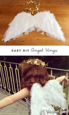 Easy DIY Angel Wings