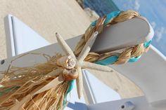 Playa boda silla pasillo Decor por TwoCraftyCubans en Etsy