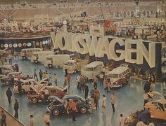 Salão do Automóvel em 1970, no Anhembi.