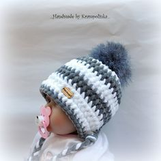 K čemu? No přeci k& String Crafts, Fun Crafts, Diy And Crafts, Crochet Baby Hats, Knit Crochet, Birthday Wishes Greeting Cards, Baby Dolphins, Pet Rats, Scrappy Quilts