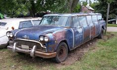 Limo, Station Wagon, Antique Cars, Rust, Vans, Trucks, Doors, Vehicles, Vintage Cars