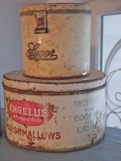 Chateau Chic: Vintage Tins and Maine Vacation