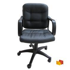 Silla grande y amplia tipo  eco-cuero capitoneado. Chair, Furniture, Home Decor, Big Chair, Desk Chairs, Single Wide, Leather, Decoration Home, Room Decor