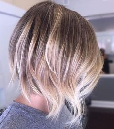Balayage Short Hair Blonde 2018-2019 Edgy Pixie with delicate Red Highlights A Balayage Short Hair Blonde will solely be amplified with the employment of balayage!She adds some delicate washed out red highlights to her dark brown mane, adding some funky lightness to her artsy vogue.