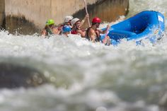 US Whitewater center is in Charlotte and it is very cool. There's a great restaurant where you can enjoy lunch on the patio overlooking the man-made whitewater river, the climbing wall and the walking/biking trails. There is a small fee to visit the center.