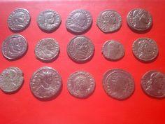 ROMAN COINS LOT 15.psc Roman, Coins, Stone, Rock, Rooms, Stones, Batu