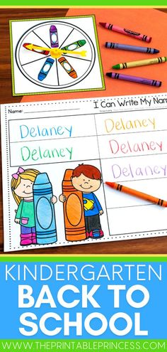 Gear up for the Fall with your new students with this math and literacy activity pack that is perfect for brand new Kindergarteners! Inside you'll find a collection of no-prep activities, fun centers, and partner games to build kindergarten ready skills such as letter recognition, name activities, beginning sounds, counting, number recognition and number writing, subitizing, ten frames, shapes, and more!