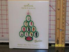 Hallmark Keepsake Ornament; Barbie Shoe Tree. 2008.