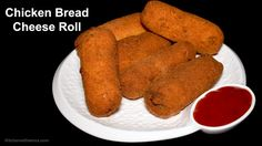 Chicken Bread Roll Recipe - Chicken and Cheese Bread Roll - Special Rama...