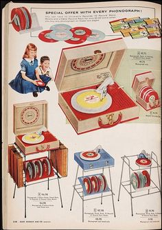 kids record player ad