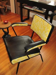 Floats like a butterfly, stings like a bee. This chair might make me happy to sit down to work.