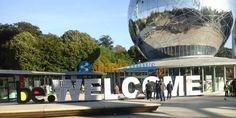 Εξερευνώντας το Ατόμιουμ…των Βρυξελλών. Το ονομάζουν «Ο Πύργος του Άιφελ των Βρυξελλών». Βρίσκεται μερικά χιλιόμετρα μακριά από το κέντρο της πόλης