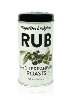 Cape Herb & Spice RUB Mediterranean Roasts