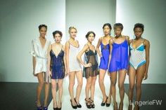 The Making of a Lingerie Fashion Show by Laura at The Lingerie Addict.