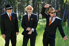 COLOR PALLET FOR GROOMSMEN | 50+ ideas for an orange wedding color palette