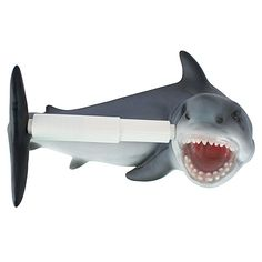 Add a toothy touch to your bathroom with the Design Toscano Shark Attack Bathroom Toilet Paper Holder . This Great White-inspired toilet paper holder. Shark Bathroom, Bathroom Toilets, Bathroom Faucets, Seashell Bathroom, Tropical Bathroom, Beach Bathrooms, Bathroom Showers, Bathroom Hardware, Master Bathroom