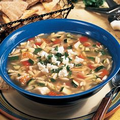 Say goodbye to ho-hum chicken soup with this delicious Greek-style version.