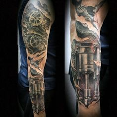 Top 80 Best BioMechanical Tattoos for Men Tattoos Arm Mann, Arm Tattoos For Guys, Body Art Tattoos, Hand Tattoos, Sleeve Tattoos, Tattoos For Women, Tattoo Art, Tribal Tattoos, Biomechanical Tattoos