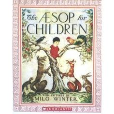 printables for Aesop for Children - includes coloring sheets, copywork, and Montessori Cards