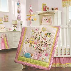 A beautiful collection and variety of crib bedding with trees for the nursery. You'll find various colors, designs and styles.