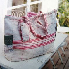 handmade zakka for baby  baby bags, such a good idea