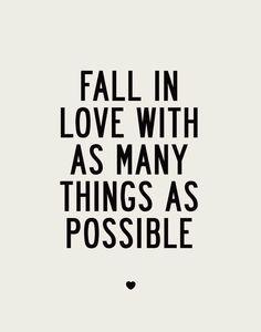 Fall in love ♡