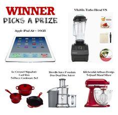 Winner Picks The Prize