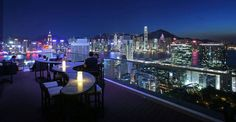 Top outdoor bar and lounges in Hk