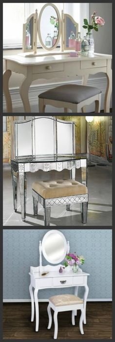 Vanity Makeup Tables / Coiffeuses