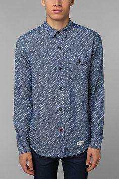 Urban Outfitters CPO Diamond Printed Shirt